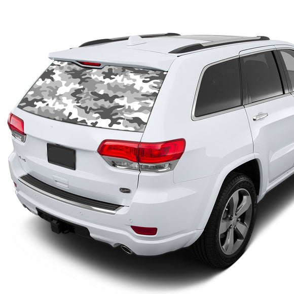 Army Perforated for Jeep Grand Cherokee decal 2011 - Present
