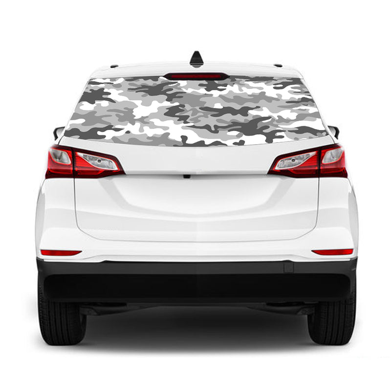 Army Perforated for Chevrolet Equinox decal 2015 - Present