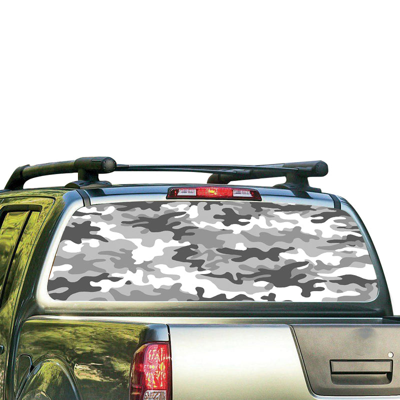 Army 2 Perforated for Nissan Frontier decal 2004 - Present