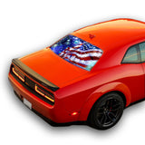 USA Stars Perforated for Dodge Challenger decal 2008 - Present