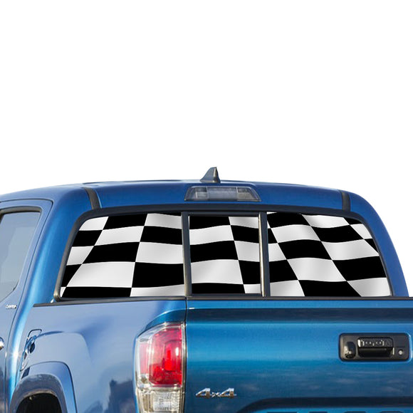Fishing Perforated for Toyota Tacoma decal 2009 - Present