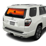 Surfing Perforated for Toyota 4Runner decal 2009 - Present