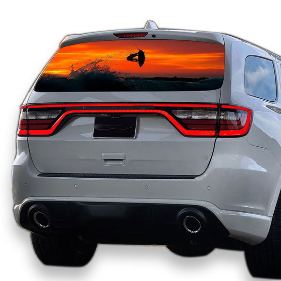 Surfing Perforated for Dodge Durango decal 2012 - Present