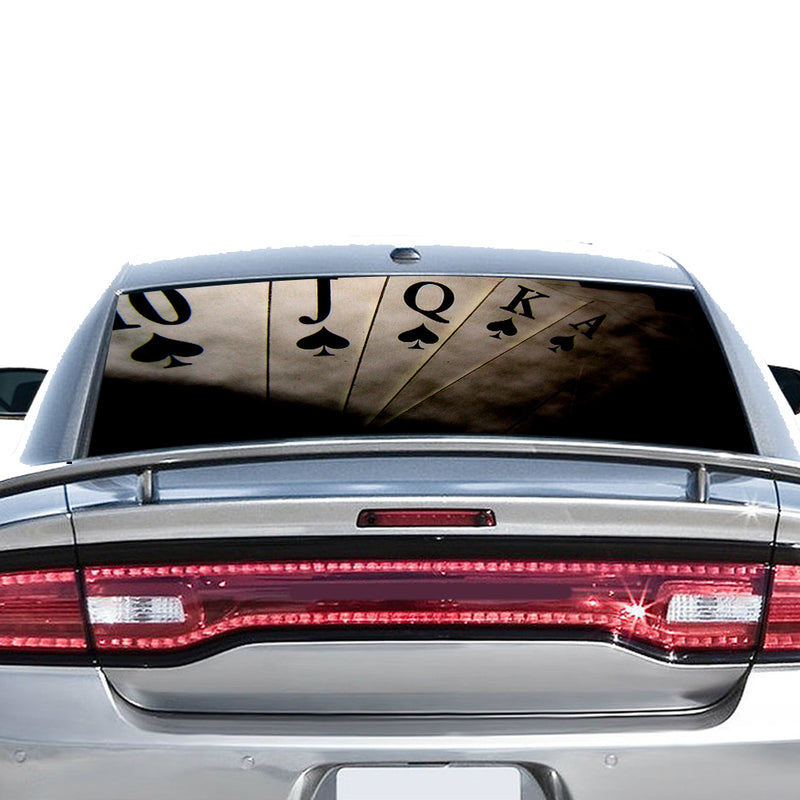 Play Cards Perforated for Dodge Charger 2011 - Present