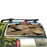Army 3 Perforated for Nissan Frontier decal 2004 - Present