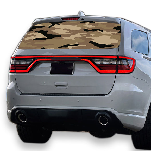 Army 2 Perforated for Dodge Durango decal 2012 - Present