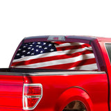 USA Flag Perforated for Ford F150 Decal 2015 - Present