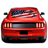 USA Perforated Sticker for Ford Mustang decal 2015 - Present