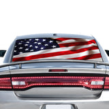 USA Flag Perforated for Dodge Charger 2011 - Present