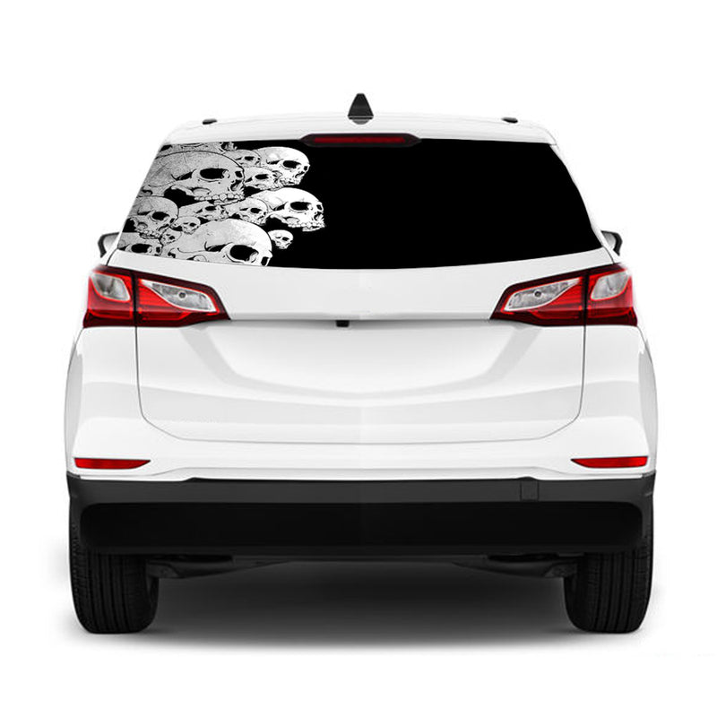 Graffiti Perforated for Chevrolet Equinox decal 2015 - Present