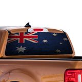 Australia Flag Perforated for Ford Ranger decal 2010 - Present