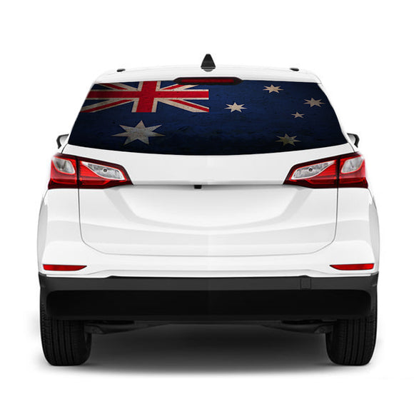 Australian Flag Perforated for Chevrolet Equinox decal 2015 - Present