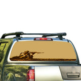USA Sniper Perforated for Nissan Frontier decal 2004 - Present