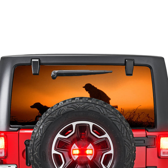 Hunting Perforated for Jeep Wrangler JL, JK decal 2007 - Present