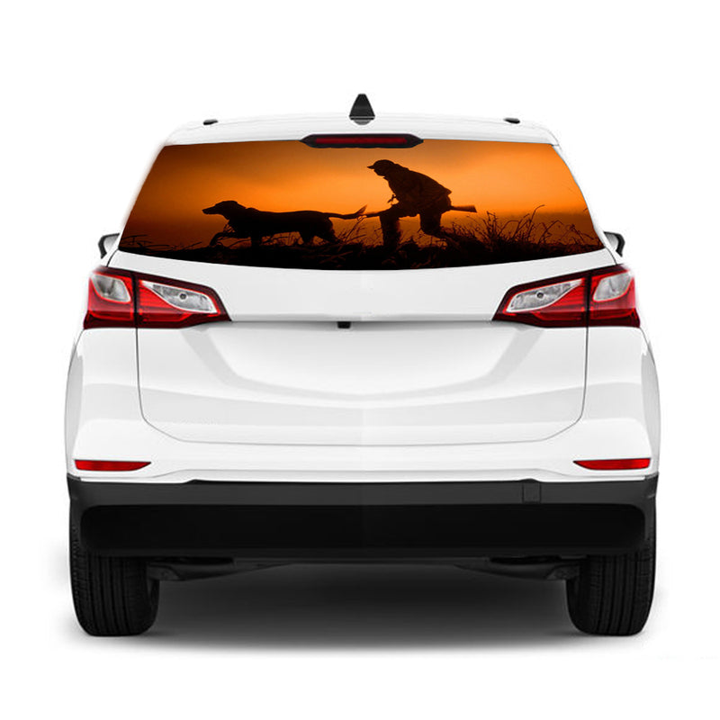Hunting Perforated for Chevrolet Equinox decal 2015 - Present