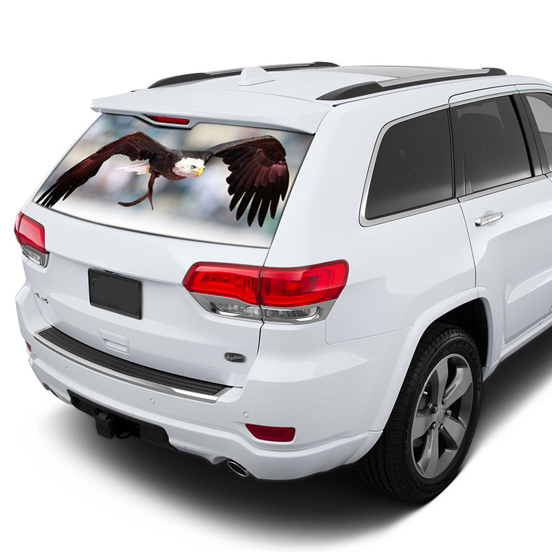Eagle 1 Perforated for Jeep Grand Cherokee decal 2011 - Present