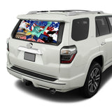 New York Perforated for Toyota 4Runner decal 2009 - Present