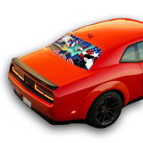 New York Perforated for Dodge Challenger decal 2008 - Present