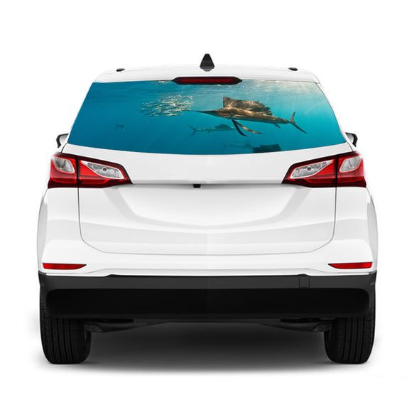 Fishing 2 Perforated for Chevrolet Equinox decal 2015 - Present