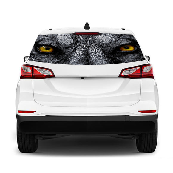 Wolf Eyes Perforated for Chevrolet Equinox decal 2015 - Present