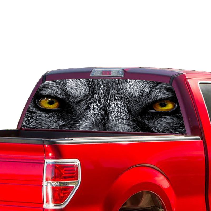 Wolf Eyes Perforated for Ford F150 Decal 2015 - Present