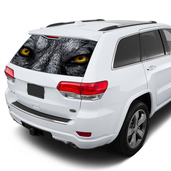 Wolf Eyes Perforated for Jeep Grand Cherokee decal 2011 - Present