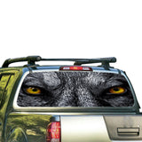 Wolf Eyes Perforated for Nissan Frontier decal 2004 - Present