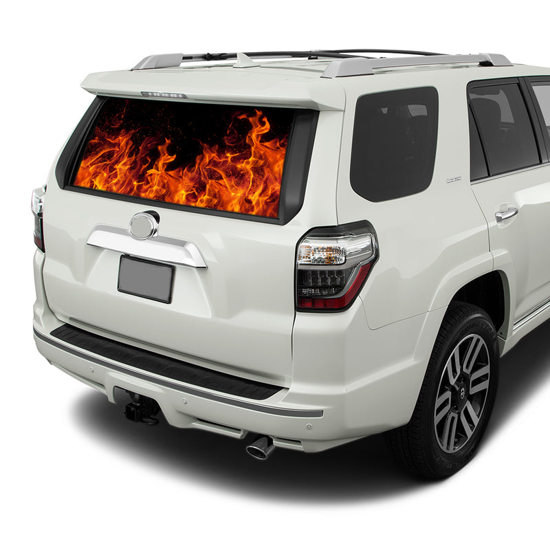 Flames Perforated for Toyota 4Runner decal 2009 - Present