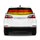 Germany Flag Perforated for Chevrolet Equinox decal 2015 - Present