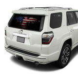 USA Eagle Flag Perforated for Toyota 4Runner decal 2009 - Present