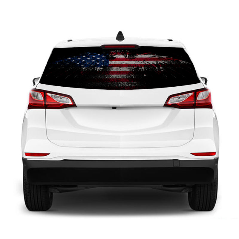 Eagle USA Perforated for Chevrolet Equinox decal 2015 - Present