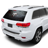 Punisher Perforated for Jeep Grand Cherokee decal 2011 - Present