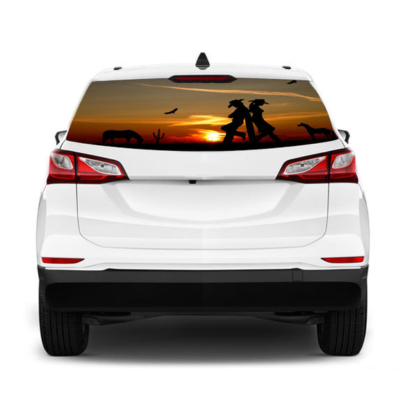 Desert Girls Perforated Graphic Chevrolet Equinox decal 2015 - Present