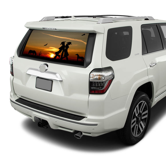 Wild West Perforated for Toyota 4Runner decal 2009 - Present