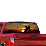 West Girls Perforated for Nissan Titan decal 2012 - Present