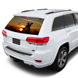 Wild West Perforated for Jeep Grand Cherokee decal 2011 - Present
