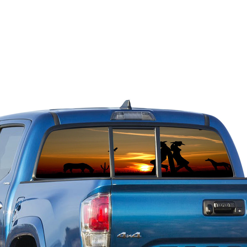Wild West Perforated for Toyota Tacoma decal 2009 - Present
