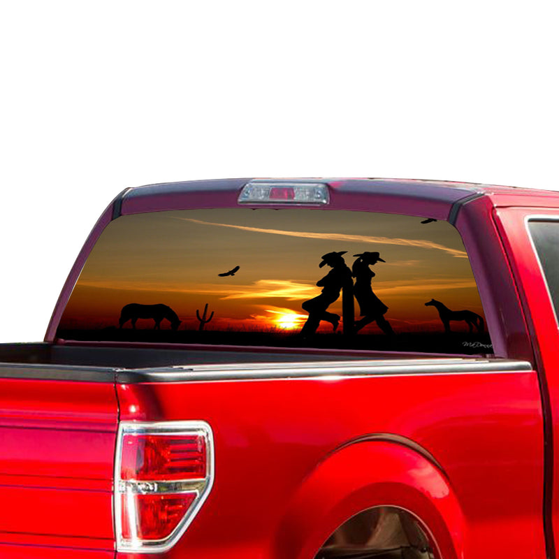 Wild West Perforated for Ford F150 Decal 2015 - Present