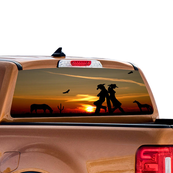 West Girls Perforated for Ford Ranger decal 2010 - Present