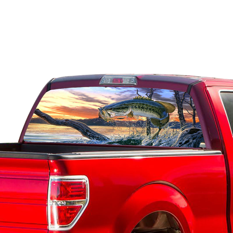 Fishing Perforated for Ford F150 Decal 2015 - Present