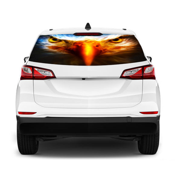 Eagle Eyes Perforated Graphic Chevrolet Equinox decal 2015 - Present