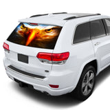 Eagle Eyes Perforated for Jeep Grand Cherokee decal 2011 - Present