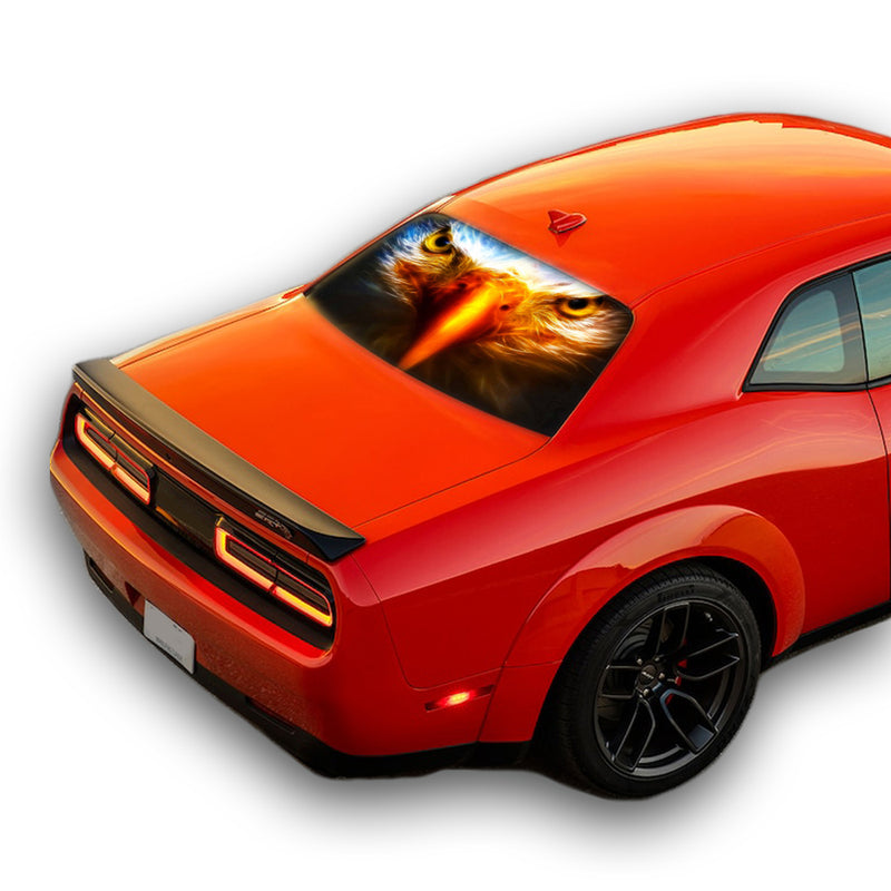 Eagle Eyes Perforated for Dodge Challenger decal 2008 - Present