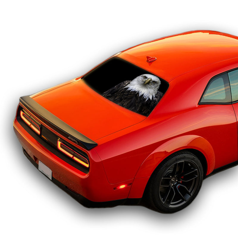 Black Eagle Perforated for Dodge Challenger decal 2008 - Present