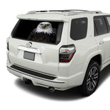Black Eagle Perforated for Toyota 4Runner decal 2009 - Present