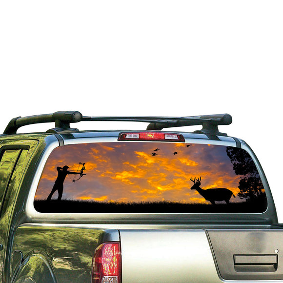 Arrow Perforated for Nissan Frontier decal 2004 - Present