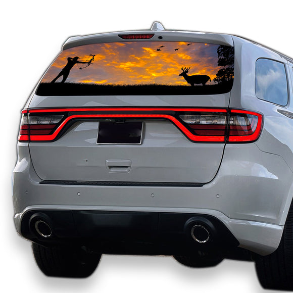 Arrow Hunting Perforated for Dodge Durango decal 2012 - Present