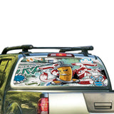 Graffiti Perforated for Nissan Frontier decal 2004 - Present