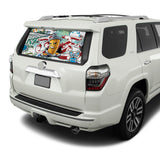 Graffiti Perforated for Toyota 4Runner decal 2009 - Present
