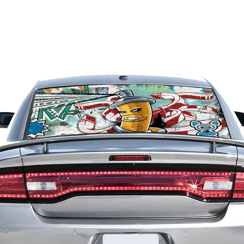 Graffiti Perforated for Dodge Charger 2011 - Present